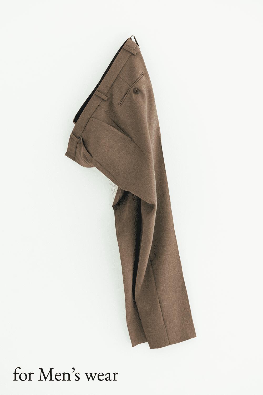 男性用スーツパンツ