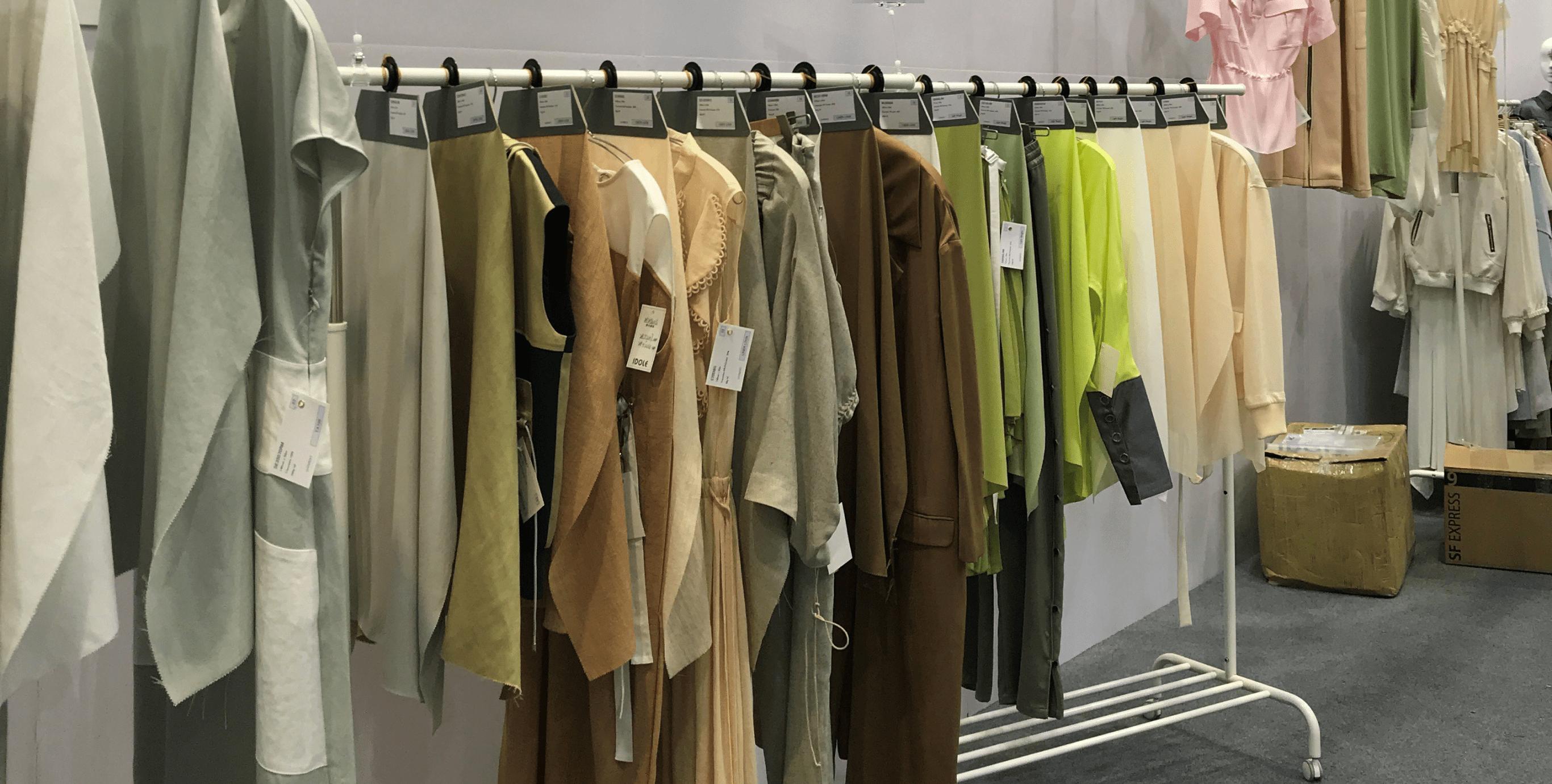 2020春夏在上海的中国Inter textile Shanghai展出